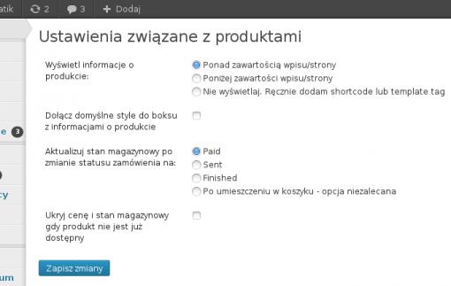 konfiguracja produktów
